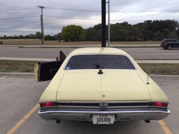 Used 1968 Chevrolet Chevelle SS Butternut Yellow | Mundelein, IL