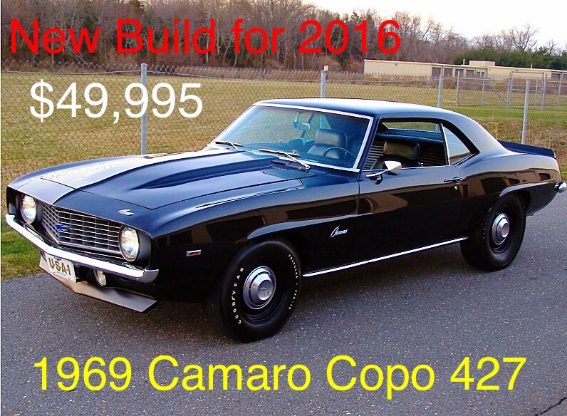 Used 1969 Chevrolet Camaro Copo 427 New Build Mundelein Il