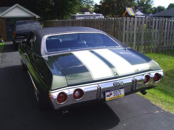 Used 1972 Chevrolet Chevelle NUMBERS MATCHING! | Mundelein, IL