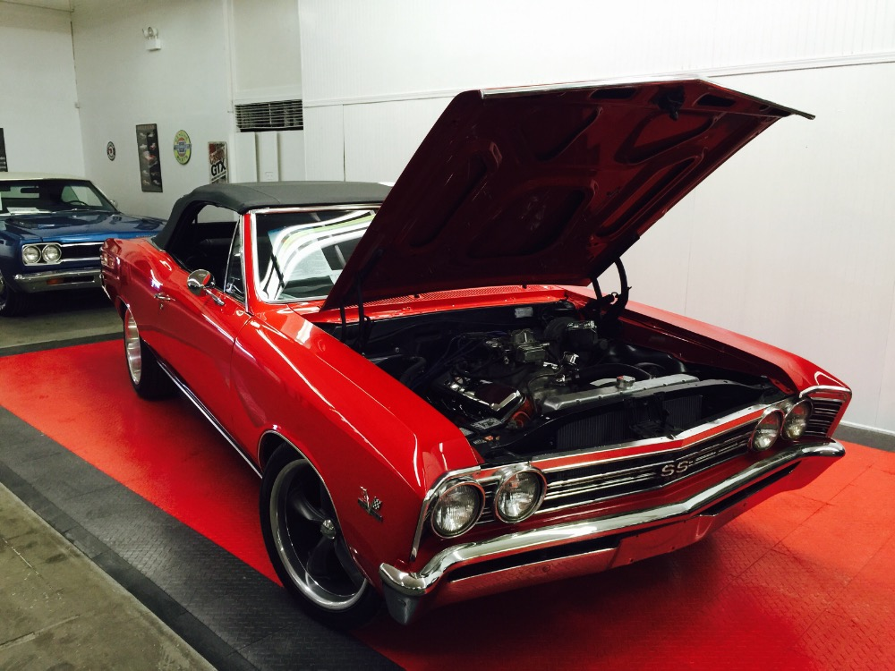 Used 1967 Chevrolet Chevelle BIG BLOCK SS396-4 SPEED TRIBUTE-RESTORED-CONVERTIBLE FUN- | Mundelein, IL