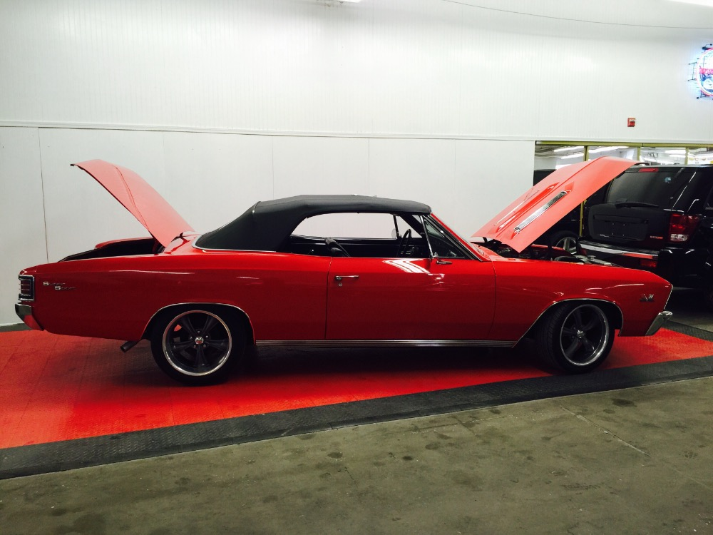 Used 1967 Chevrolet Chevelle BIG BLOCK SS396-4 SPEED TRIBUTE-RESTORED-CONVERTIBLE FUN-   Mundelein, IL