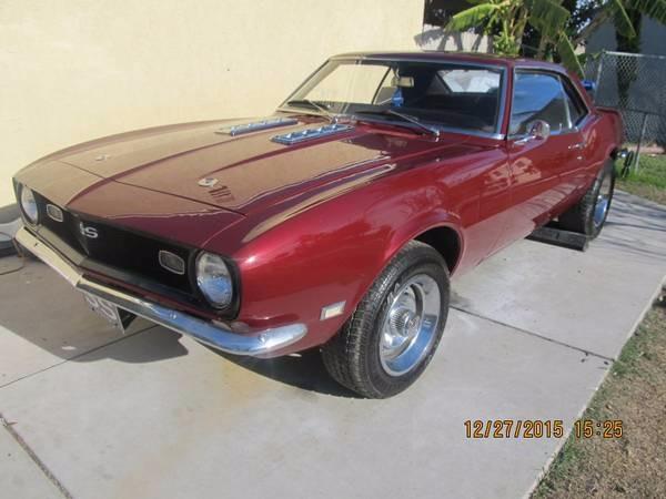 Used 1968 Chevrolet Camaro - Very Nice Cali Car - | Mundelein, IL