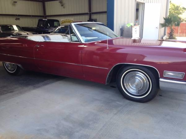 Used 1968 Cadillac DeVille Beautiful Convertible | Mundelein, IL