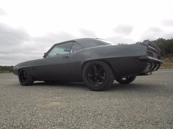 Used 1969 Chevrolet Camaro Black on Black- Pro Charged- Bad Boy-SEE VIDEO'S | Mundelein, IL