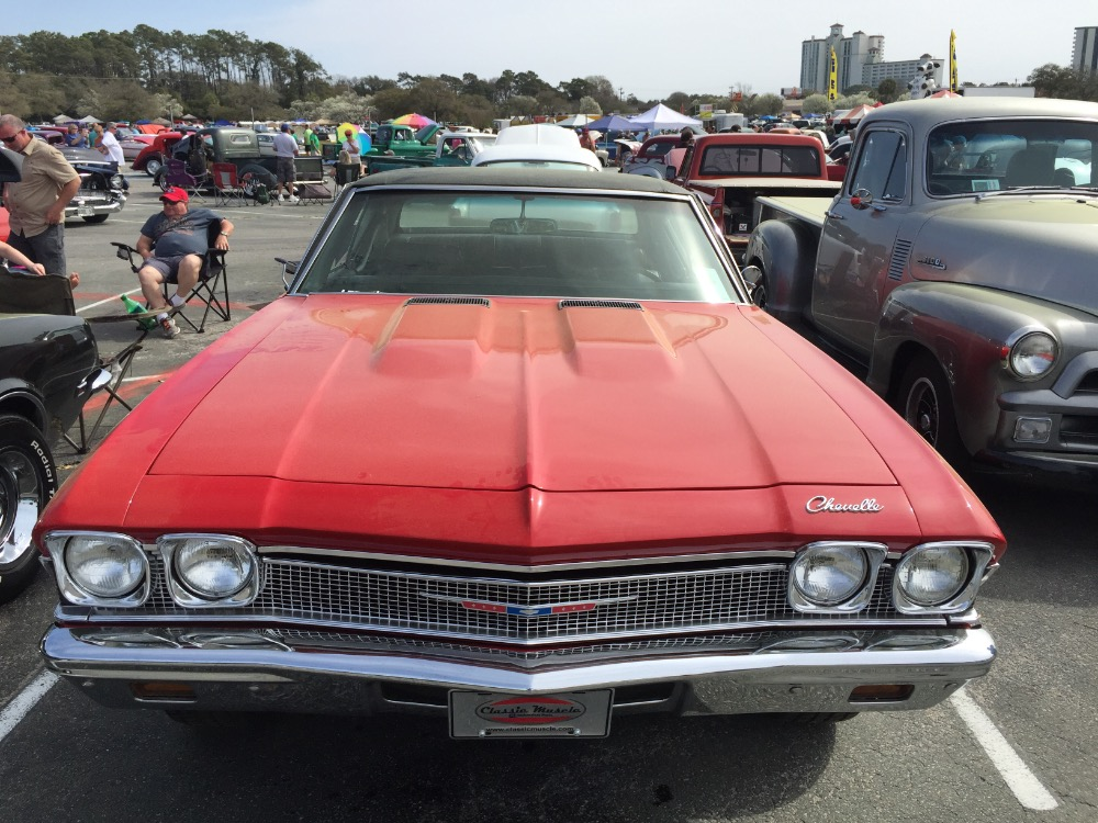 Used 1968 Chevrolet Chevelle Solid-South Carolina car-New Red paint-12 bolt-SEE VIDEO | Mundelein, IL