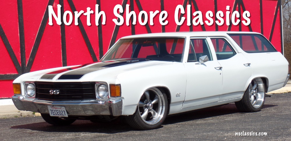 Used 1972 Chevrolet Chevelle SS Concours wagon air ride,bagged badass cruiser- From California | Mundelein, IL