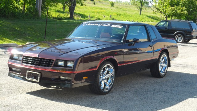 1985 Chevrolet Monte Carlo SS Super Sport Stock # 8501 for sale near