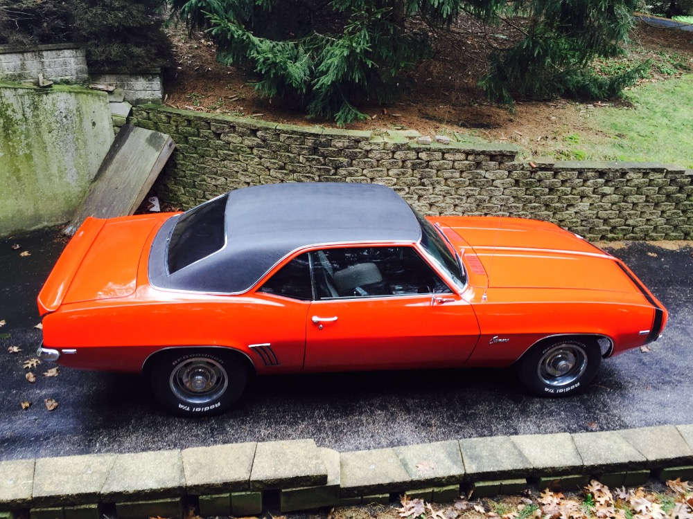 Used 1969 Chevrolet Camaro NEW HUGGER ORANGE PAINT-X44 Code-From Virginia- with AC- Very Reliable | Mundelein, IL