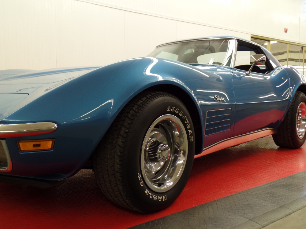 Used 1970 Chevrolet Corvette SHARP CONVERTIBLE-FACTORY CODE 976--Mulsanne Blue | Mundelein, IL