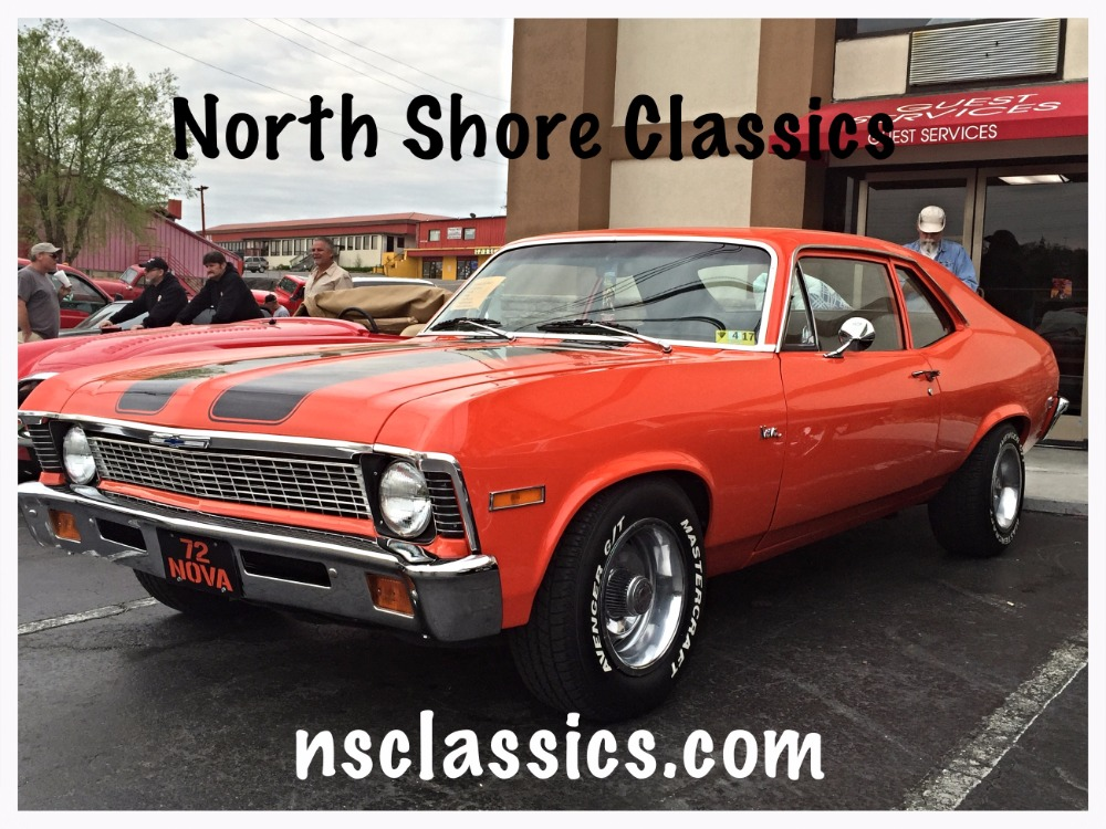 Used 1972 Chevrolet Nova -Fuel Injected Pro Tour-Hugger Orange-From West Virginia | Mundelein, IL