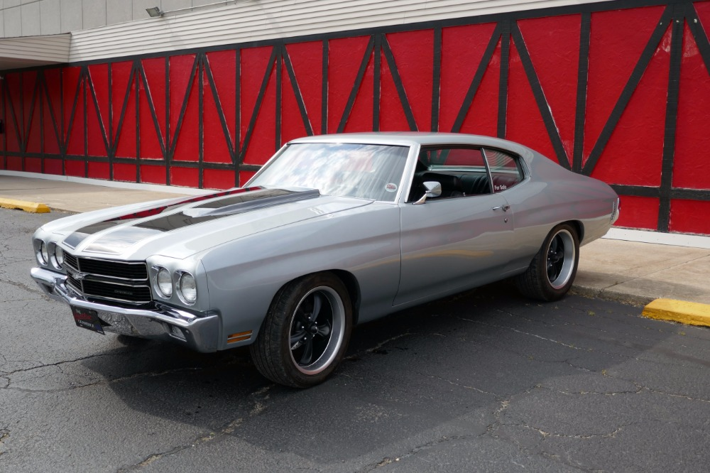 Used 1970 Chevrolet Chevelle FRAME ON 3 YEAR RESTORATION-A MUST SEE-CORTEZ SILVER- SEE VIDEO | Mundelein, IL