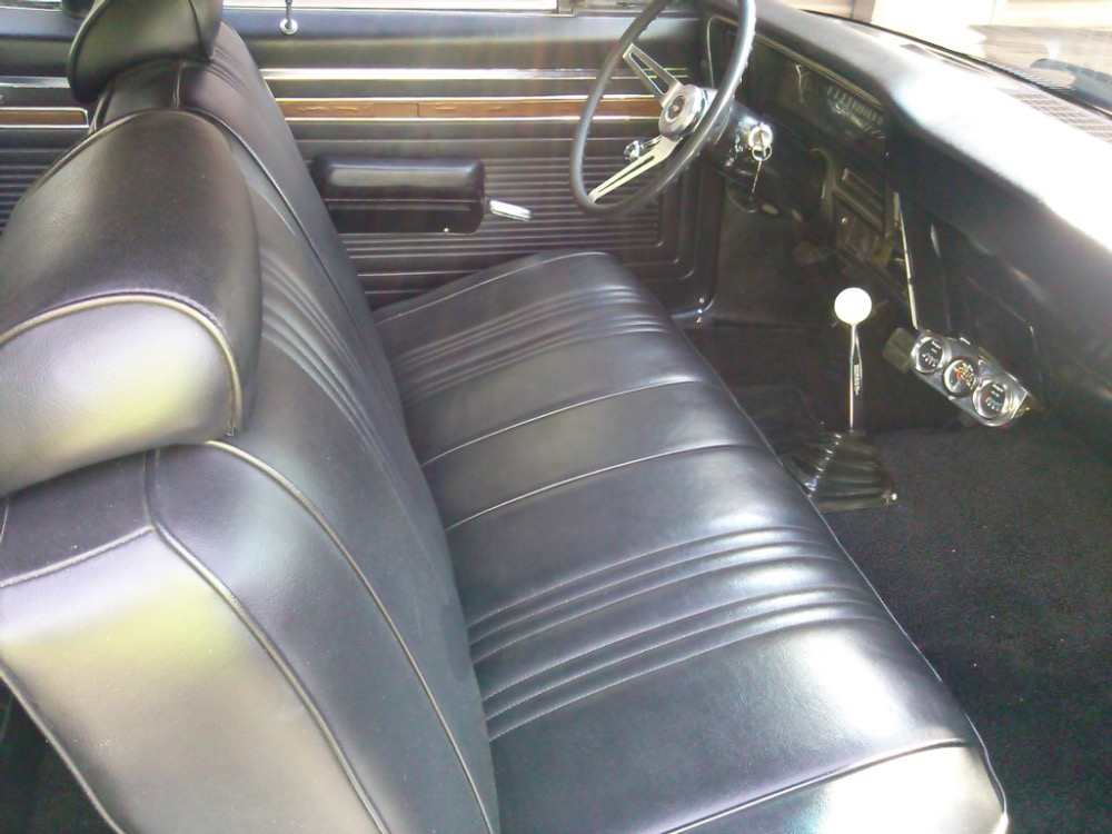 Used 1969 Chevrolet Nova LS5 BIG BLOCK-SUPER SPORT LOOK-MIRROR BLACK HIGH $ PAINT JOB-FROM GEORGIA | Mundelein, IL