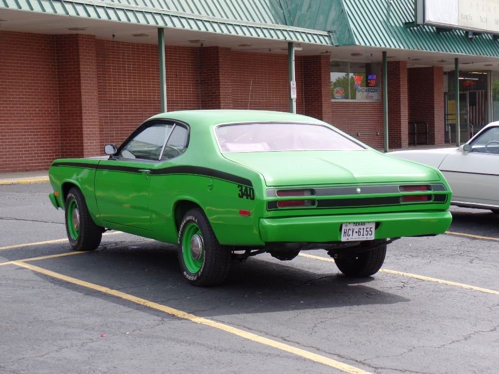1972 Plymouth Duster Sub-Lime Green-340 Engine-Driver Quality