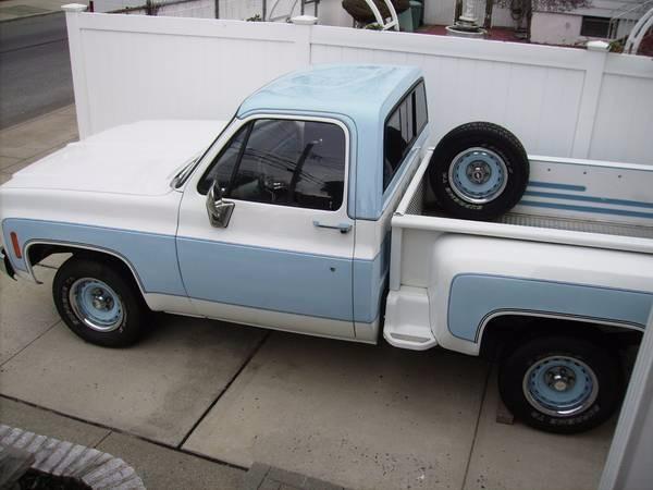Used 1973 Chevrolet Stepside -Rebuilt Engine-   Mundelein, IL
