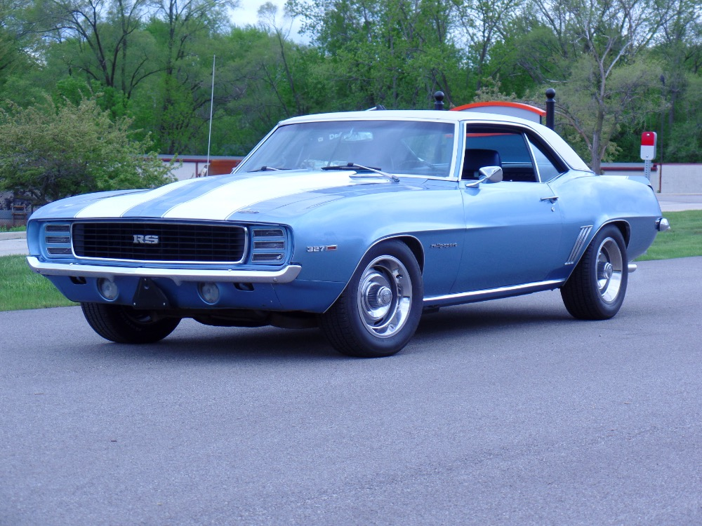 Used 1969 Chevrolet Camaro REAL RS-NUMBERS MATCHING-REAL 53 CODE RALLY SPORT-SEE VIDEO | Mundelein, IL
