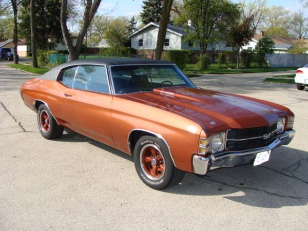 1971 Chevrolet Chevelle SS 502 BIG BLOCK Stock # 71502 for ...