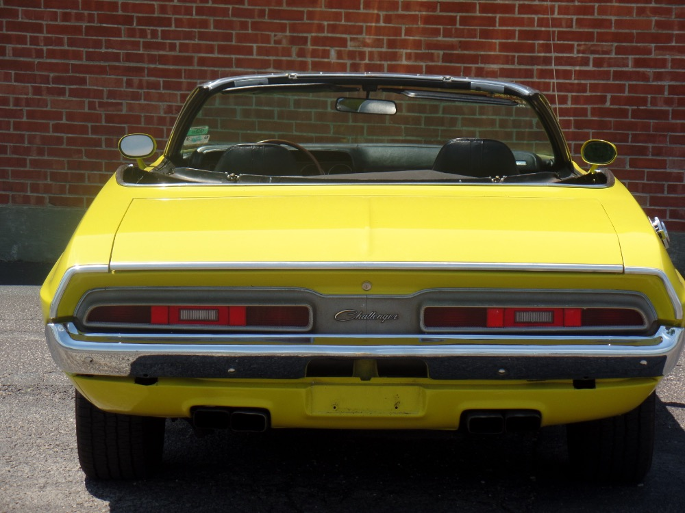 Used 1971 Dodge Challenger R/T Tribute convertible-Lemon Twist Yellow | Mundelein, IL