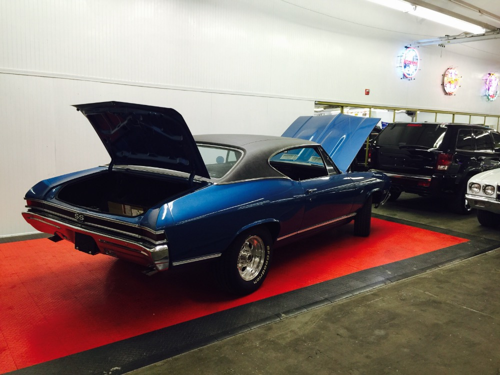 Used 1968 Chevrolet Chevelle SS BIG BLOCK 454- FRAME OFF Restored Condition- RAN 12.25 IN 1/4 MILE-SEE V | Mundelein, IL