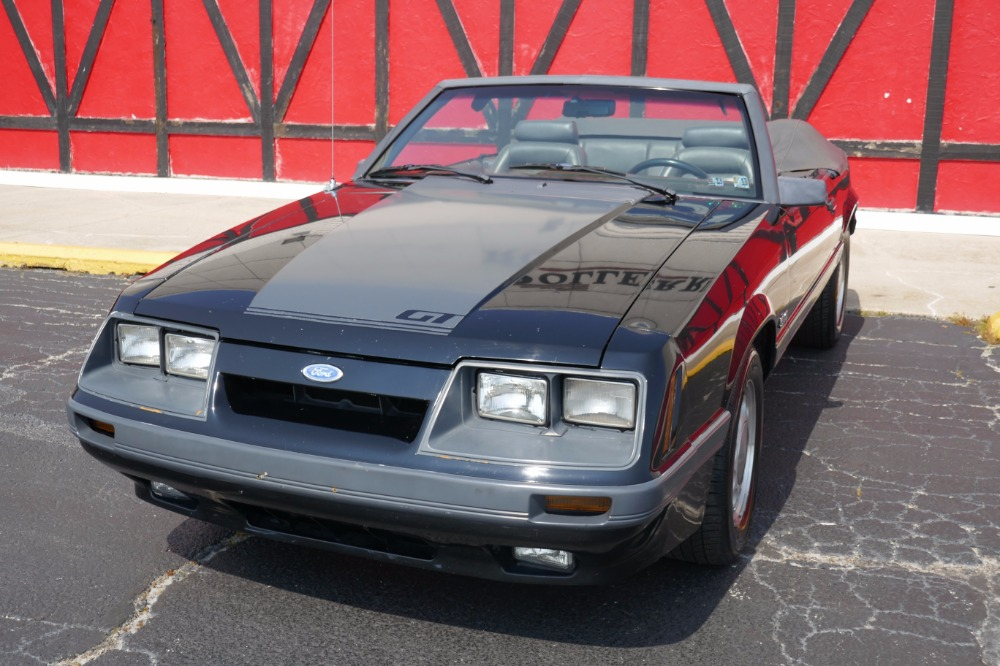Mustang Gt 5.0 For Sale >> 1986 Ford Mustang GT-5.0-SUMMER FUN- CONVERTIBLE ...