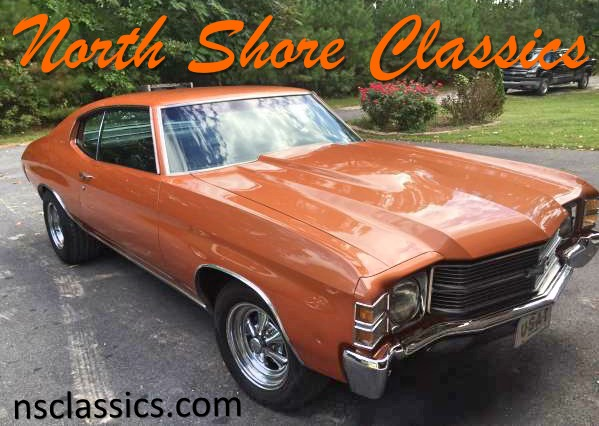 Used 1971 Chevrolet Chevelle -Nice Paint-SEE VIDEO | Mundelein, IL