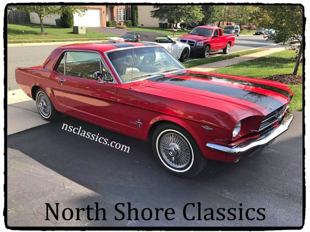 1964 Ford Mustang -Very first year for the pony-NEW PAINT-SEE VIDEO Stock # 1064VASR for sale ...