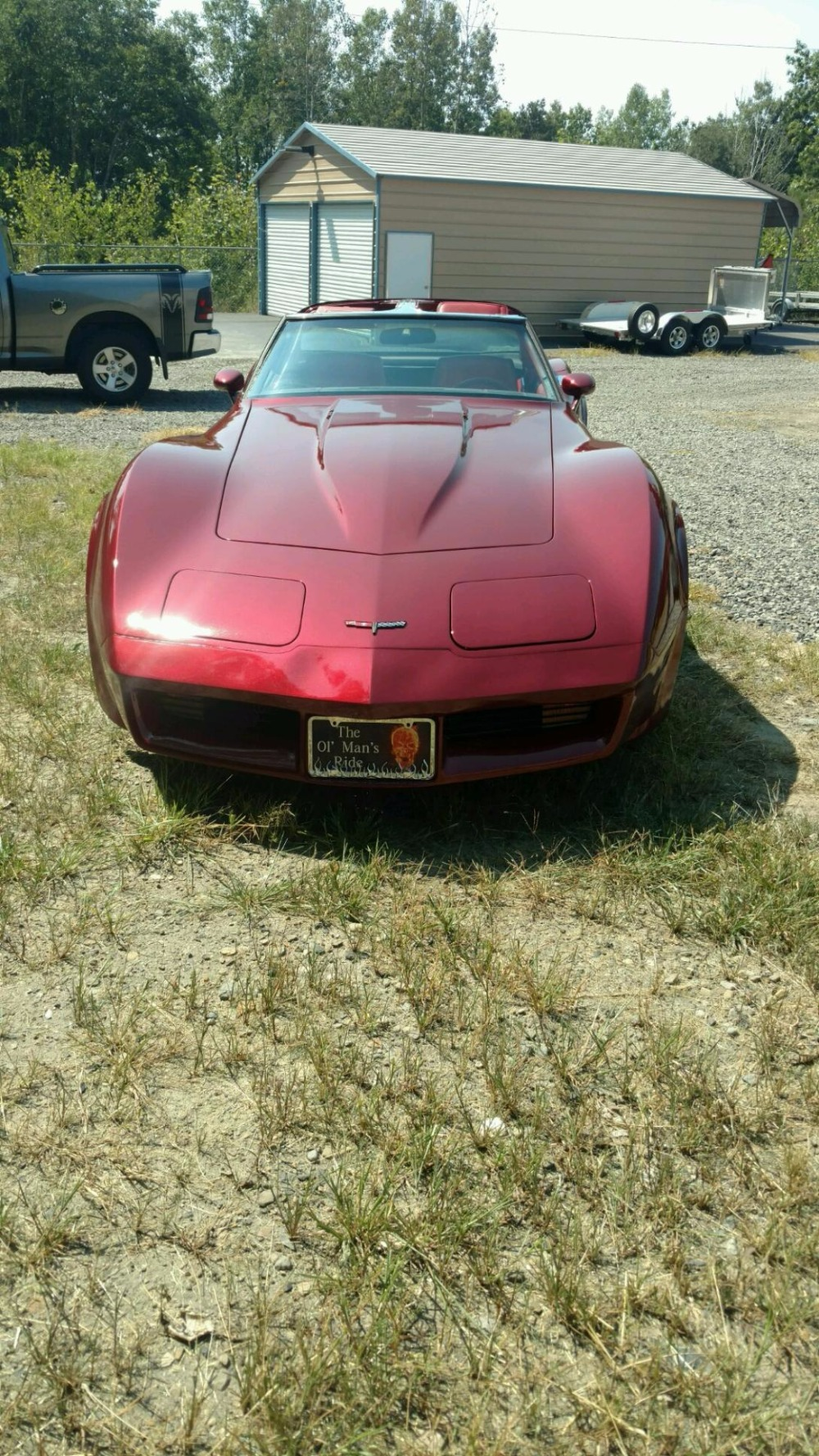 Used 1981 Chevrolet Corvette -COKE BOTTLE VETTE- FRESH PAINT- CUSTOM INTERIOR- | Mundelein, IL