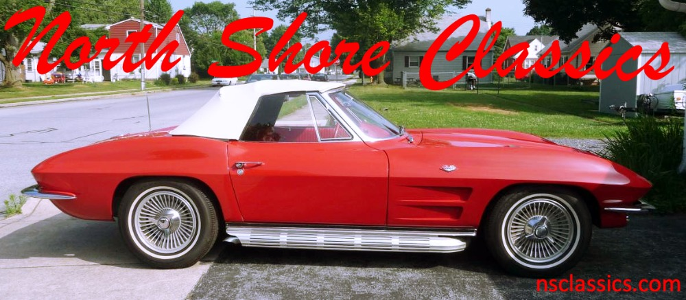 Used 1963 Chevrolet Corvette -STINGRAY CONVERTIBLE- | Mundelein, IL