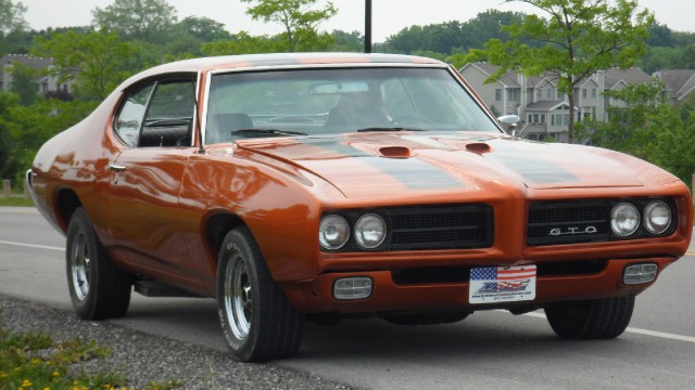 1969 Pontiac Gto Built 455 With A 4 Speed See Video Stock