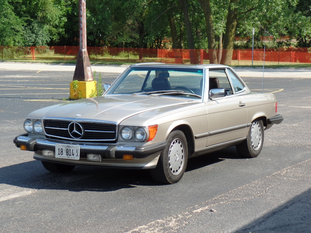 1989 mercedes benz 560sl well maintained see video stock for Mercedes benz 1989 for sale