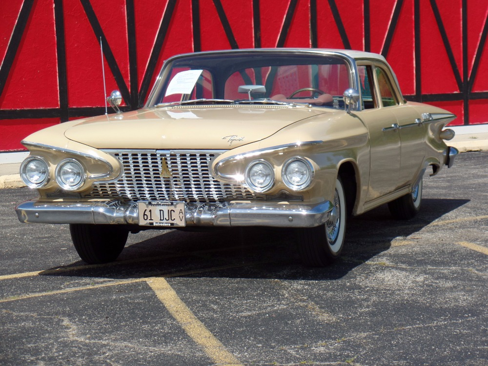 Used 1961 Plymouth Belvedere -NUMBERS MATCHING- BORN IN AMERICA-RARE CAR-CLEAN ORIGINAL- | Mundelein, IL