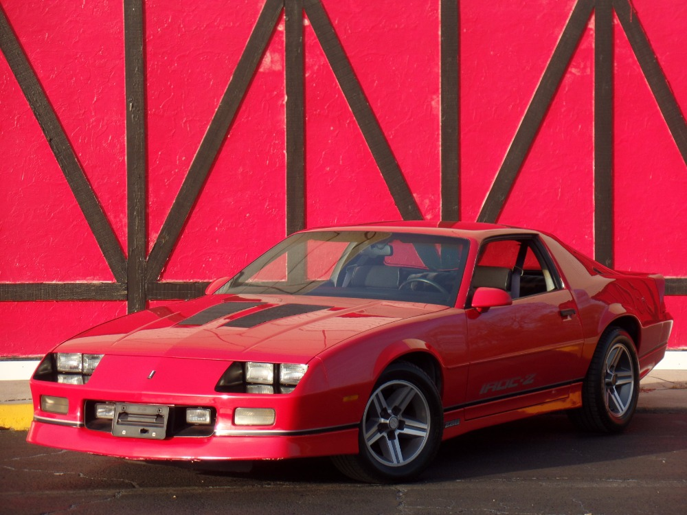 Used 1987 Chevrolet Camaro -VERY SOLID IROC Z- NEW PAINT- SWEET 80'S CAMARO-SEE VIDEO | Mundelein, IL