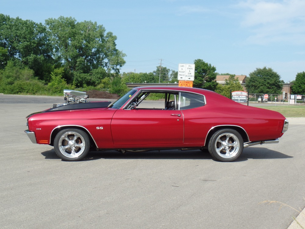 Used 1970 Chevrolet Chevelle -SUPERCHARGED BIG BLOCK-PRO TOUR-RESTORED-SHOW QUALITY SUPERSPORT-SEE VIDEO | Mundelein, IL