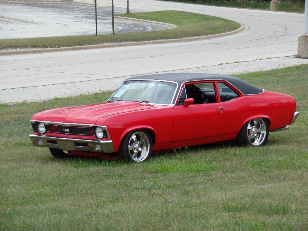 Used 1970 Chevrolet Nova -Real SS Resto Mod-PRO TOURING SHOW CAR-NEW LOW PRICE-SEE VIDEO | Mundelein, IL