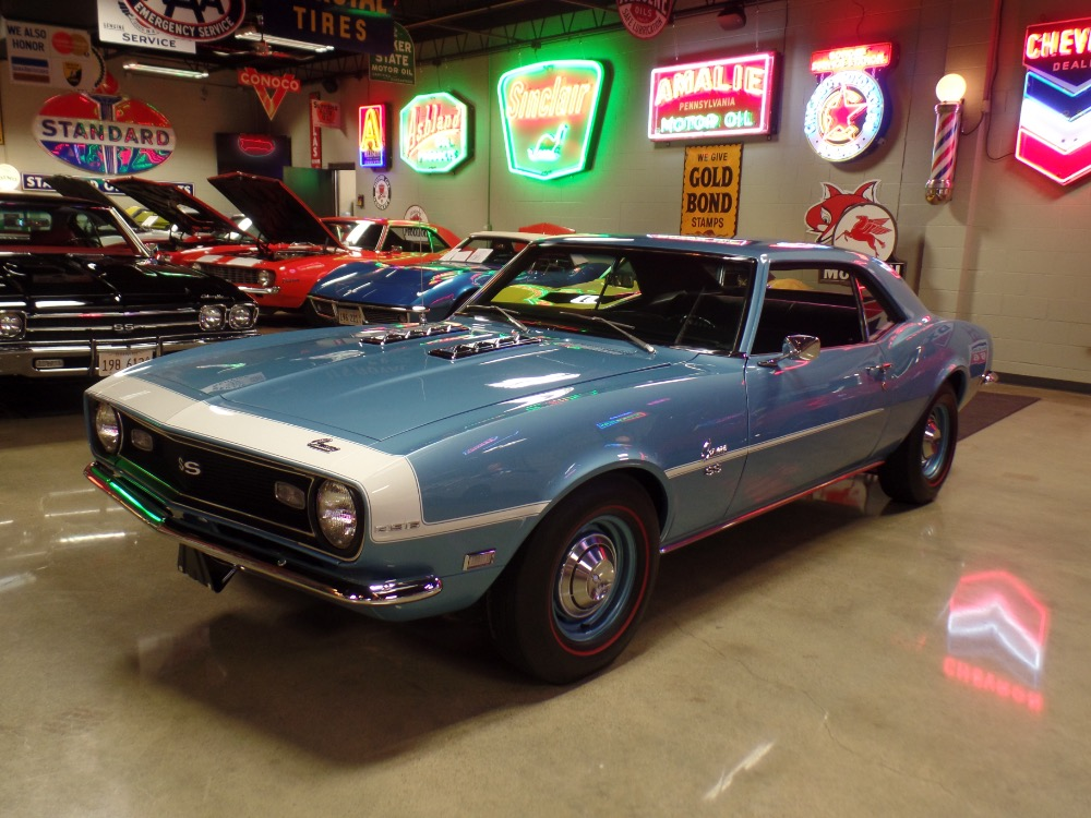 Used 1968 Chevrolet Camaro CONCOURS FACTORY SS396 WITH 4 SPEED-ONLY 25,341 ORIGINAL MILES-SHOW QUALITY | Mundelein, IL