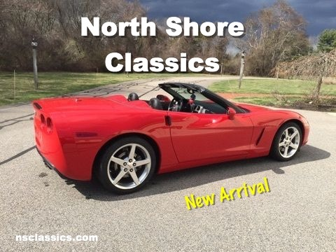2005 chevrolet corvette c6 ls2 striking red convertible very good condition stock 175cvo for. Black Bedroom Furniture Sets. Home Design Ideas