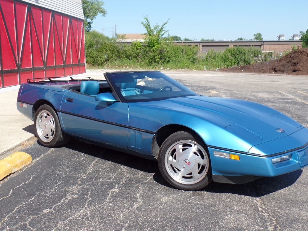 Used 1989 Chevrolet Corvette -NUMBERS MATCHING VETTE-TOP DOWN-SUMMER FUN CONVERTIBLE-SEE VIDEO | Mundelein, IL