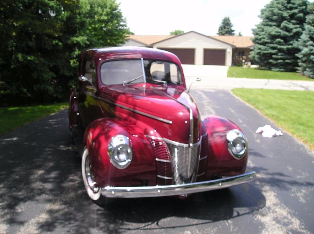 1940 Ford Deluxe -OLD SCHOOL STREET ROD- FULL RESTORATION- Stock ...