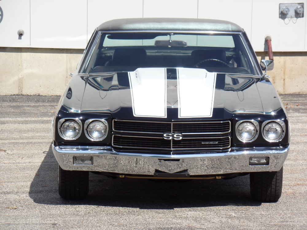 Used 1970 Chevrolet Chevelle SS454-FRAME OFF RESTORED-TRIPLE BLACK-BIG BLOCK-NEW LOW PRICE-SEE VIDEO | Mundelein, IL