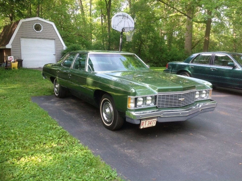 1974 Chevrolet Impala 4 Door Classic Stock 4574ildl