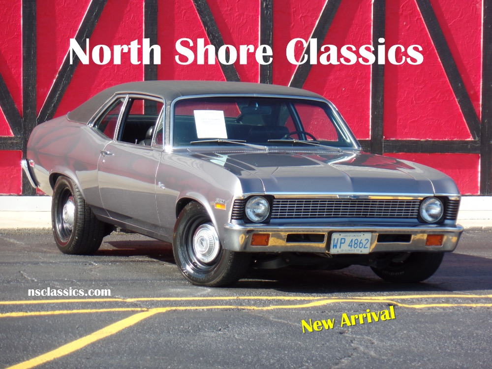 Used 1972 Chevrolet Nova -468-FULLY RESTORED BIG BLOCK SLEEPER-READY FOR SHOWS-SEE VIDEO | Mundelein, IL