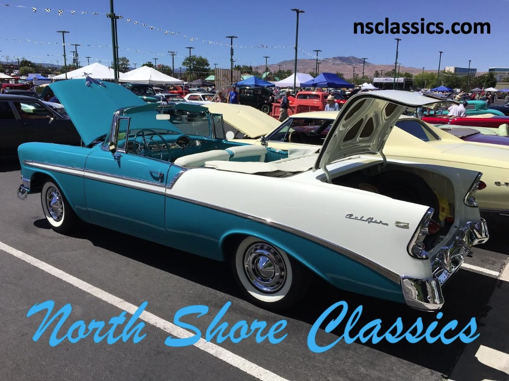 Used 1956 Chevrolet Bel Air - CONVERTIBLE- Rotisorrie Hi quality Restoration | Mundelein, IL