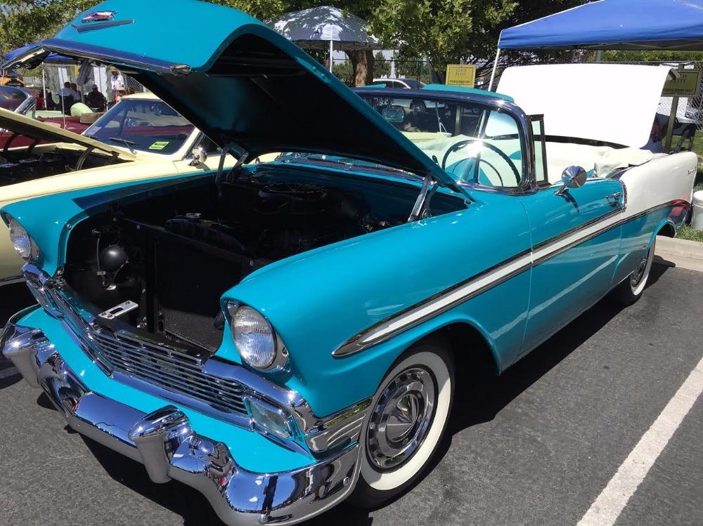 Used 1956 Chevrolet Bel Air - CONVERTIBLE- Rotisorrie Hi quality Restoration | Mundelein, IL