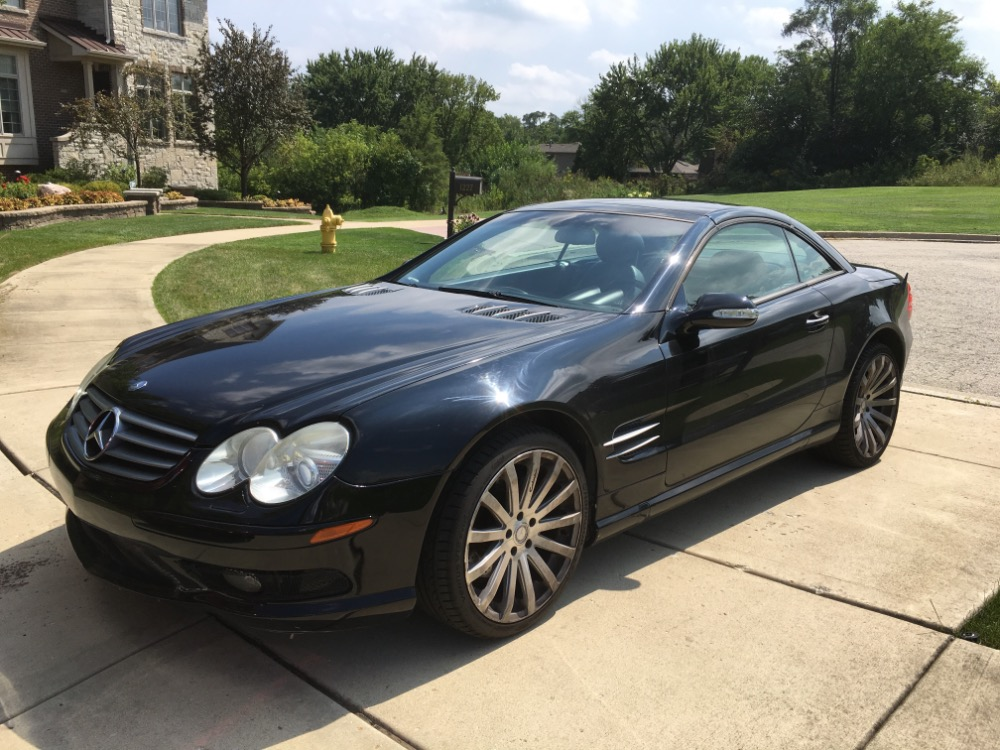 2003 mercedes benz sl500 black convertible from texas must for Mercedes benz wholesale