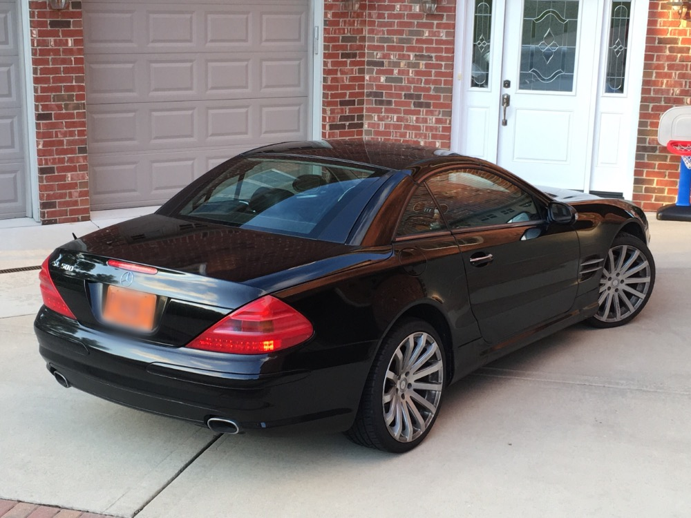 2003 mercedes benz sl500 black convertible from texas must for Mercedes benz dealers in texas