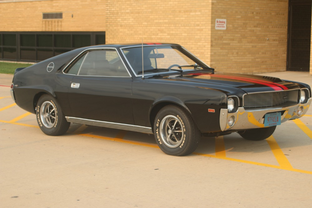 Used 1969 AMC AMX - NUMBERS MATCHING- BLACK ON BLACK-NEW LOW PRICE-SEE VIDEO | Mundelein, IL