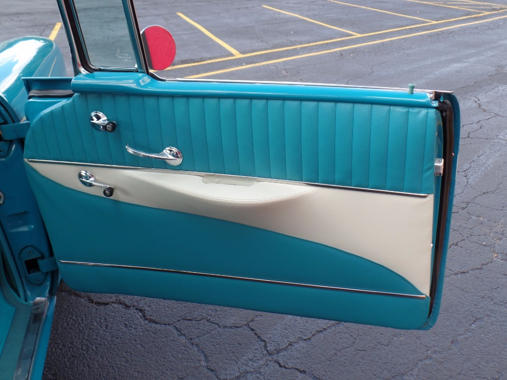 Used 1956 Chevrolet Bel Air CONVERTIBLE Rotisserie CALIFORNIA RESTORATION-NUMBERS MATCH-NEW LOW PRICE | Mundelein, IL
