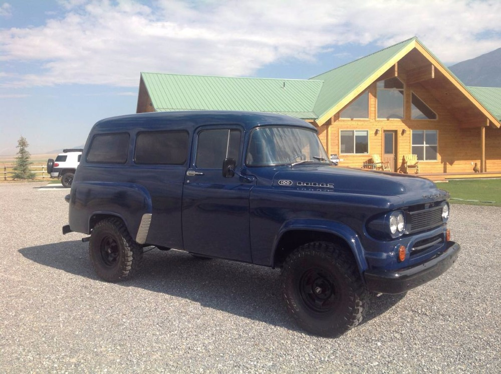 Used 1962 Dodge Pickup 100-RARE TOWN WAGON- PUSH BUTTON TRANS- | Mundelein, IL