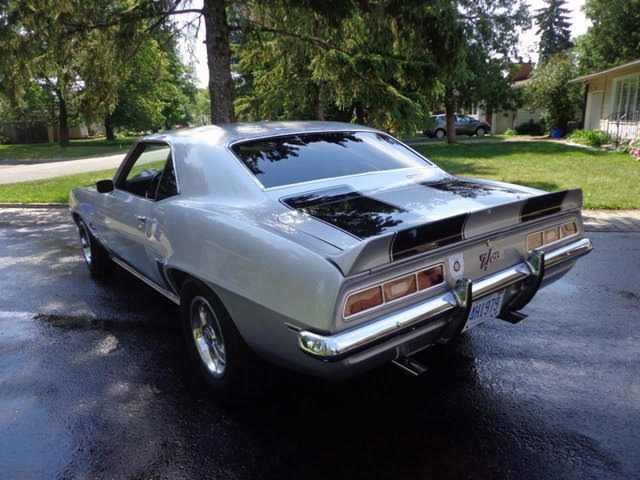 Used 1969 Chevrolet Camaro -Z28 NICE SILVER AND BLACK COLOR COMBO- | Mundelein, IL