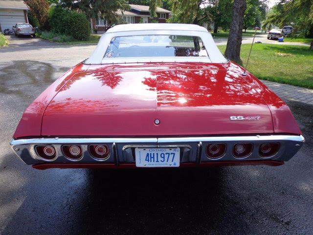 Used 1968 Chevrolet Impala -SS 427 CONVERTIBLE -SHOW STOPPER- 2 Owners- | Mundelein, IL