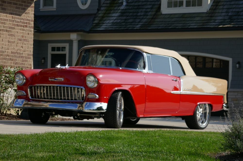 Used 1955 Chevrolet Bel Air/150/210 -SHOW CAR RESTOMOD PRO TOURING TRI FIVE-VIDEO | Mundelein, IL